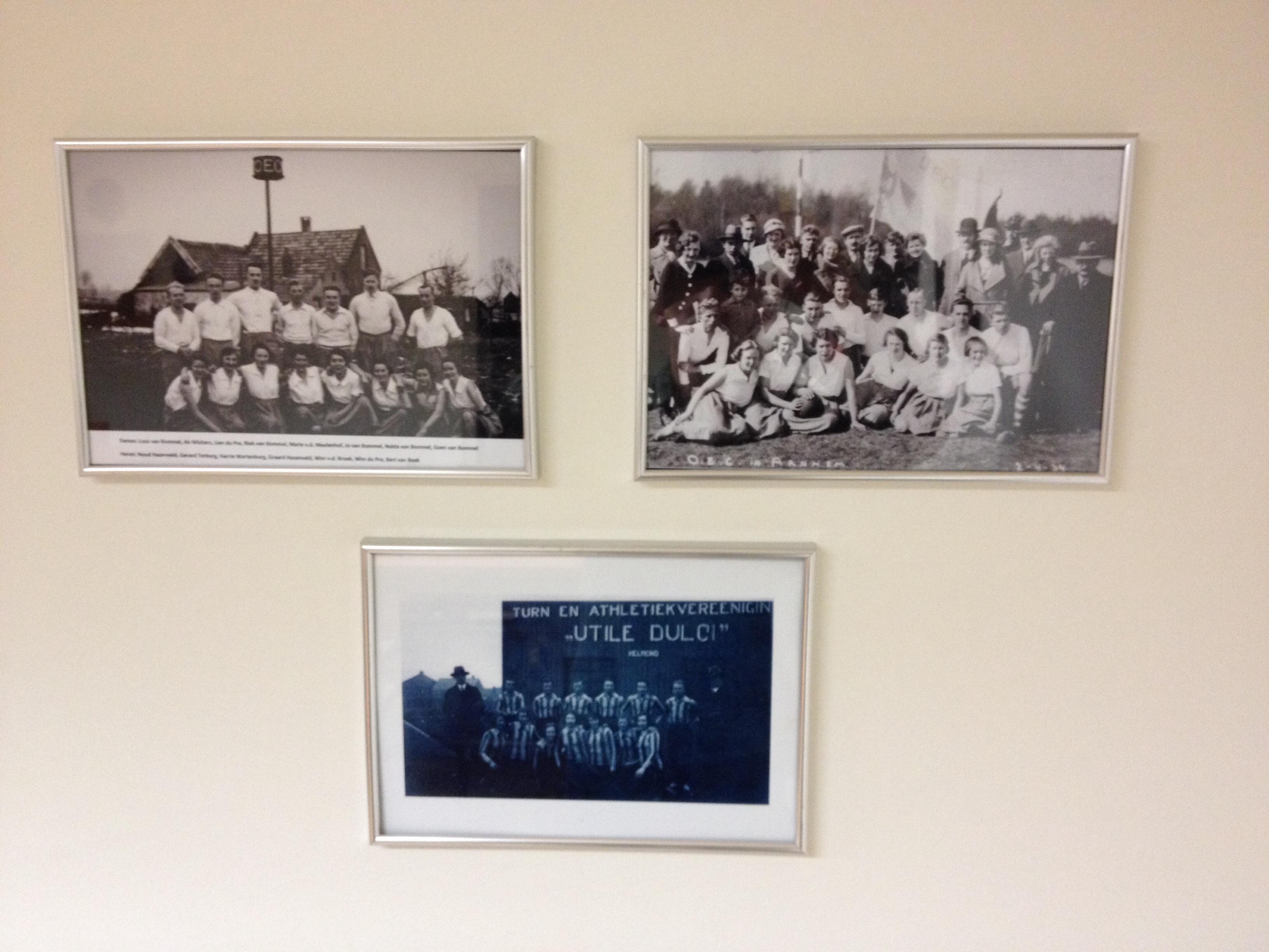 Nostalgische Foto's In Clubhuis OEC