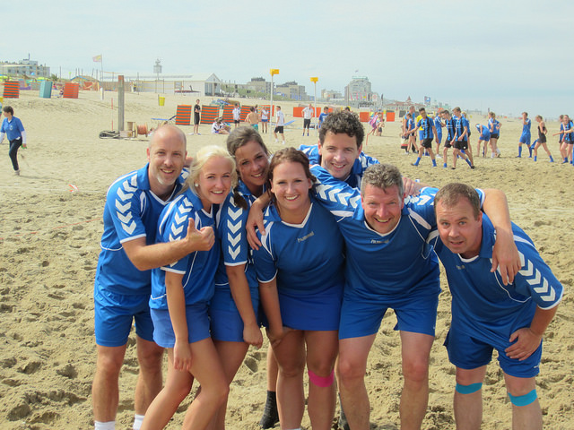 Beachkorfbal2014