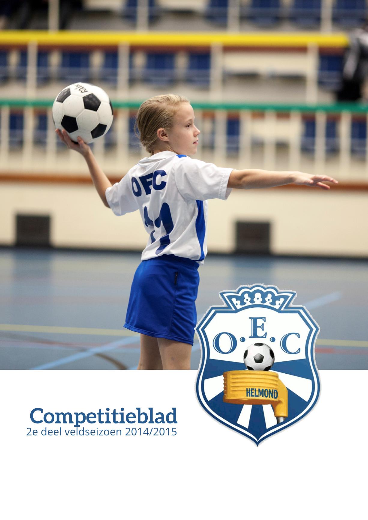 Competitieblad 2e Deel Veld 2014/2015