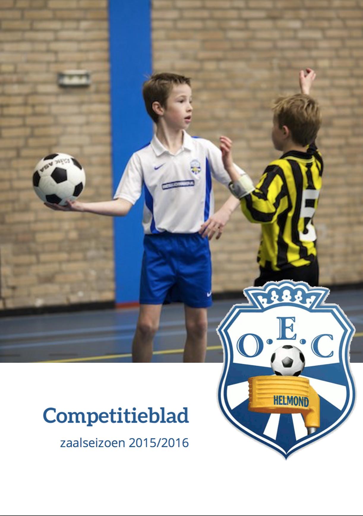 Competitieblad Zaal 2015/2016