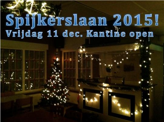 11 December: Spijkerslaan 2015