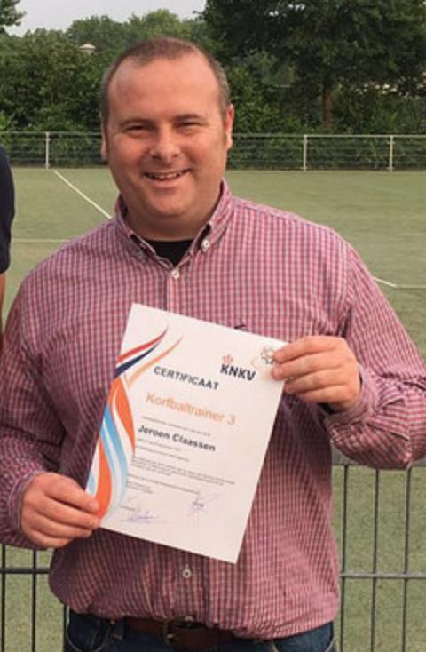 Jeroen Claassen Nieuwe Trainer Coach OEC 1