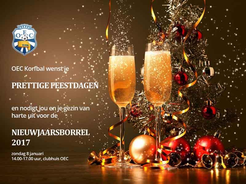 Prettige Feestdagen & Uitnodiging Nieuwjaarsborrel