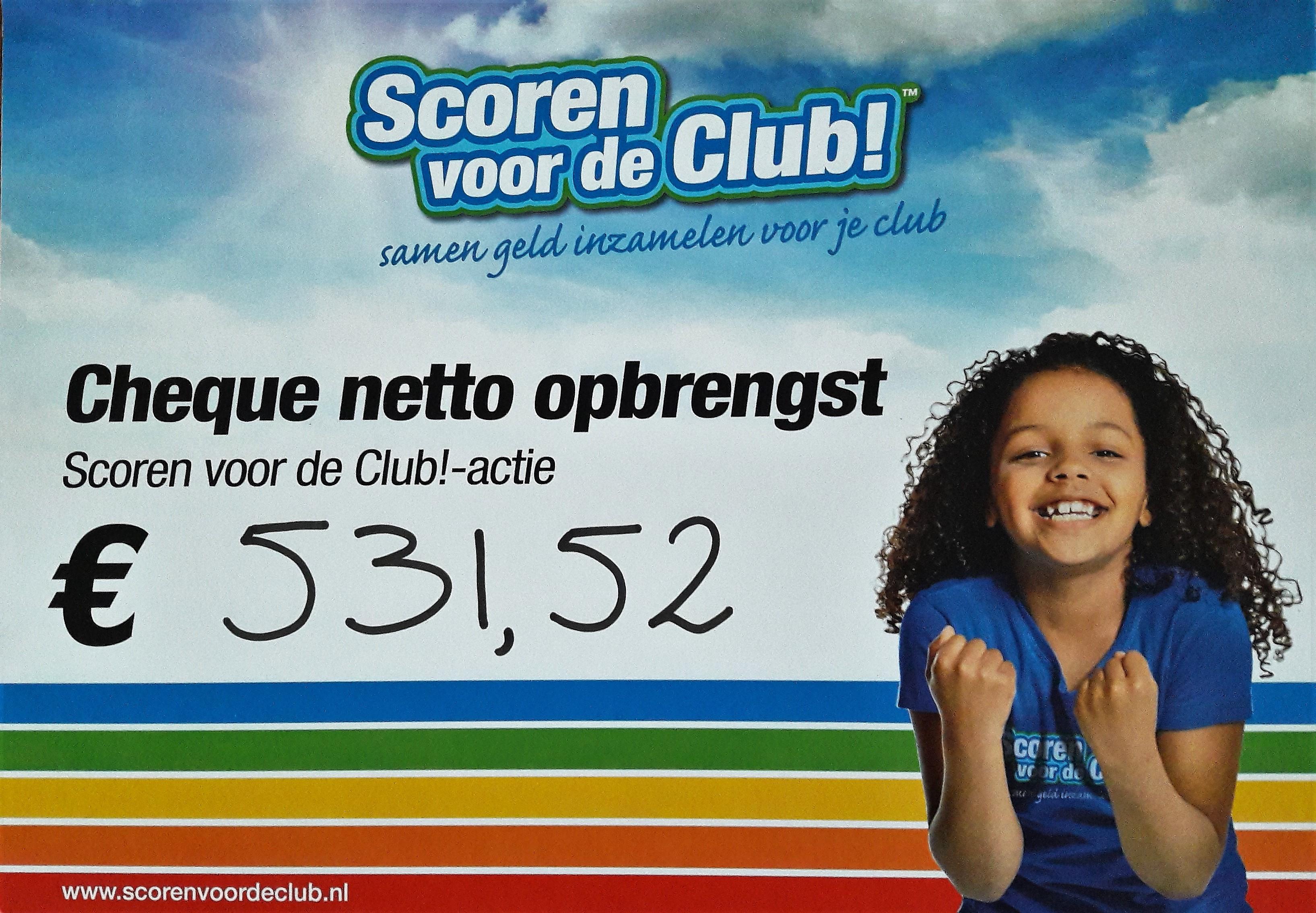 """""""Scoren Voor De Club"""" Actie"""