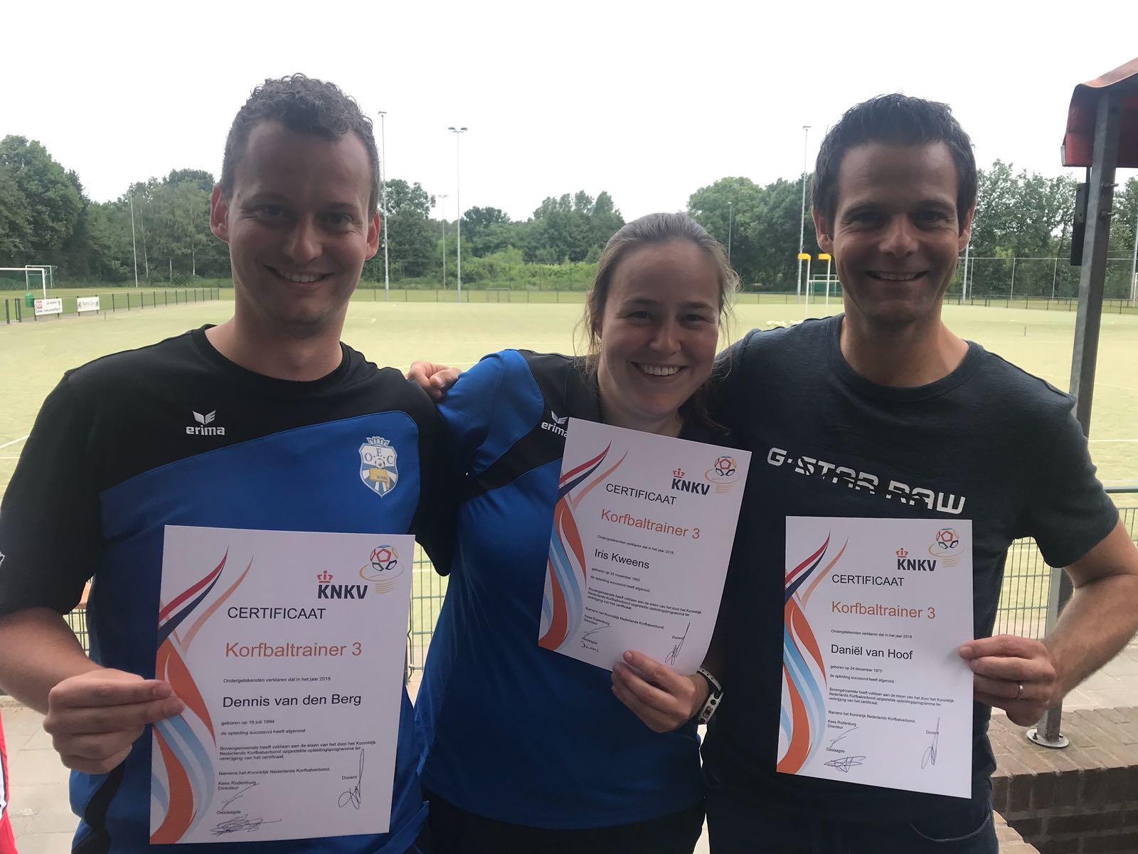 Iris, Daniel En Dennis Behalen KT3 Diploma!